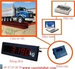 Cân xe tải điện tử, Can xe tai dien tu - Can xe tai 12m18m